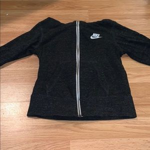 Girls Nike Zip Up Hoodie